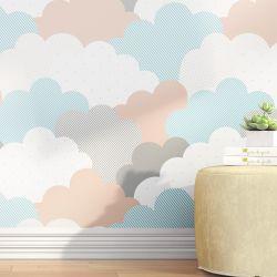 Papel de Parede Nuvem de Algodão 3m