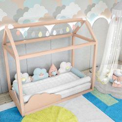 Quarto de Bebê Montessoriano Nuvem de Algodão