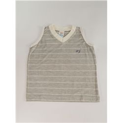 Camiseta Regata Bebê Cinza