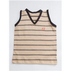 Camiseta Regata Bebê Caqui