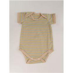 Body Bebê Curto Caqui