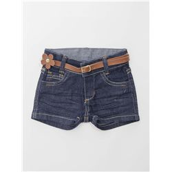 Shorts Jeans Escuro Bebê