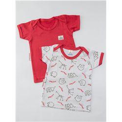 Camiseta Kit 2 peças Vermelho