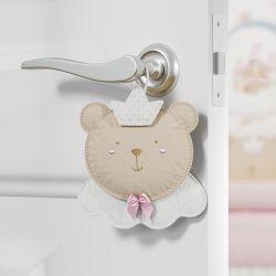 Lembrancinha Maternidade Mon Petit Ursa Princesa Rosa