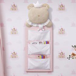 Porta Treco Amiguinha Ursa Princesa