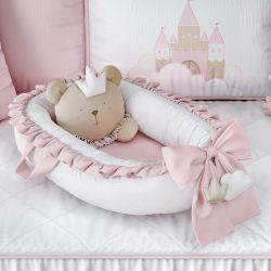 Ninho para Bebê Redutor de Berço Amiguinha Ursa Princesa
