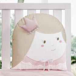 Almofada Amiguinha Princesa 31cm