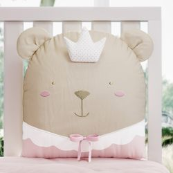 Almofada Amiguinha Ursa Princesa 31cm