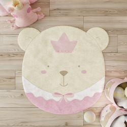 Tapete Amiguinha Ursa Princesa 80cm