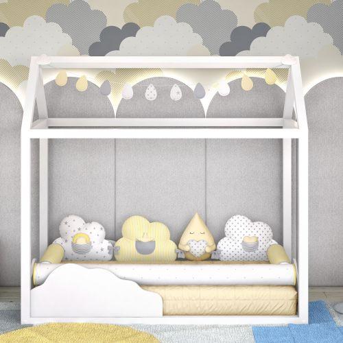 Kit Montessoriano Nuvem de Algodão Amarelo