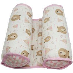 Rolinho Protetor Segura Bebê Ursinha e Cabana