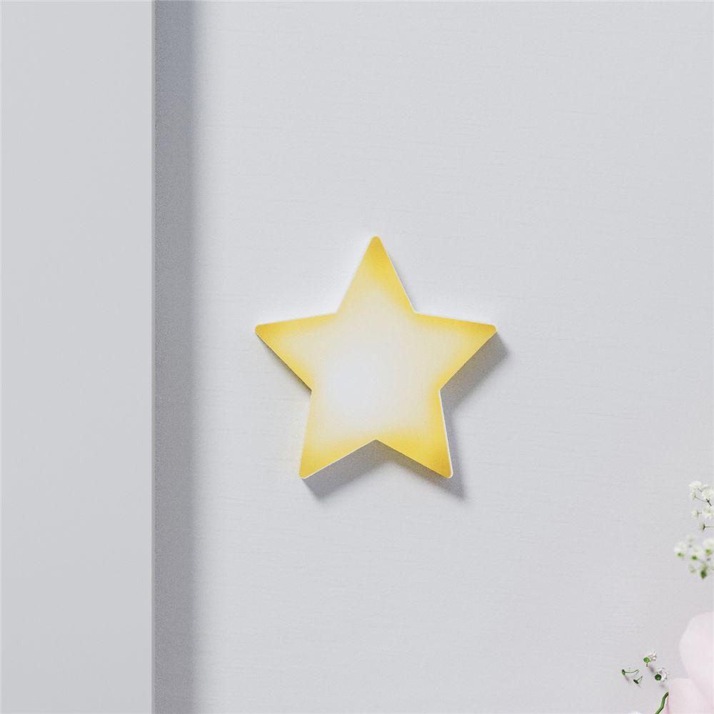 Adesivo de Parede Estrela Amarela 5,5cm Grão de Gente