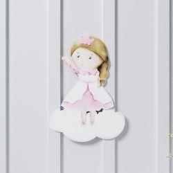 Adesivo de Parede Amiguinha Princesa 26cm