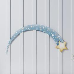 Adesivo de Parede Estrela Cadente 31cm