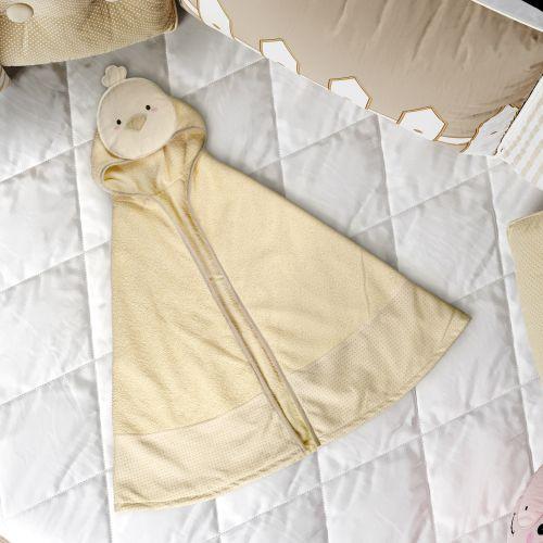 Toalha com Capuz Infantil Amiguinho Pintinho 90cm