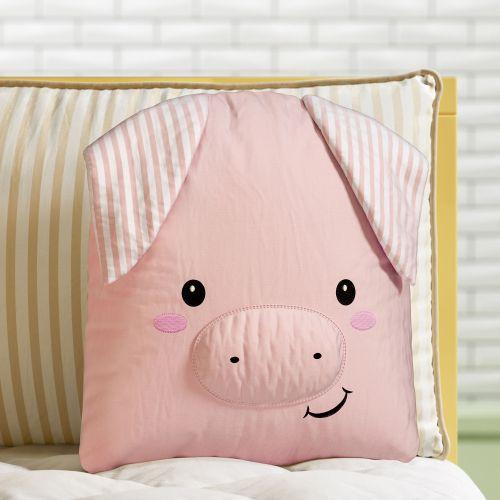 Almofada Amiguinho Porquinho 32cm