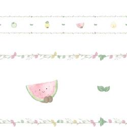Faixa Adesiva de Parede Frutinhas