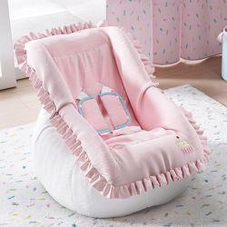 Capa de Bebê Conforto com Protetor de Cinto Doce Encanto Cupcake