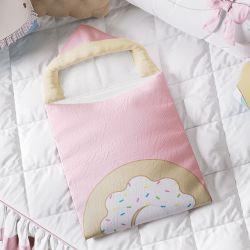 Porta Bebê Com Capuz Doce Encanto Donut