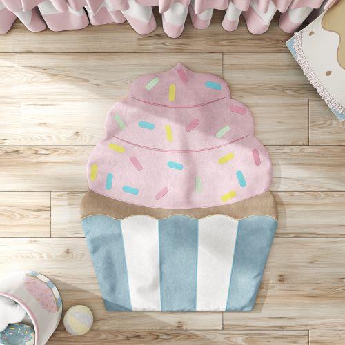 Tapete Cupcake Doce Encanto 90cm