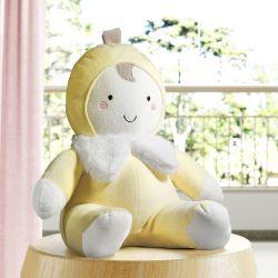 Bichinho de Pelúcia Bebê Bananinha 33cm