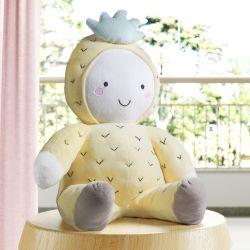 Bichinho de Pelúcia Bebê Abacaxi 33cm