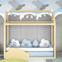 Kit Montessoriano Nuvem de Algodão Azul