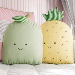 Almofadas Abacaxi e Maçã Verde 2 peças