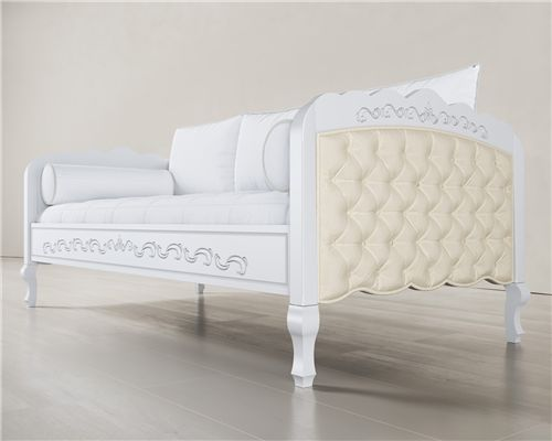 Cama Babá Sofá Versailles Branco
