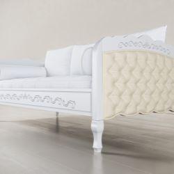 Cama Sofá Versailles Branco