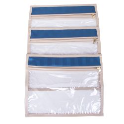 Saquinhos Organizadores para Mala Glamour Azul Marinho