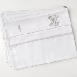 Envelopes Maternidades Cachorrinho Poá 3 Peças