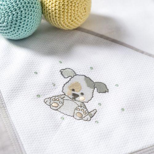 Cueiro Cachorrinho Amigurumi
