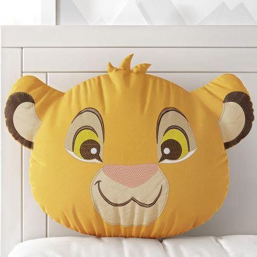 Almofada Amiguinho Simba O Rei Leão 36,5cm