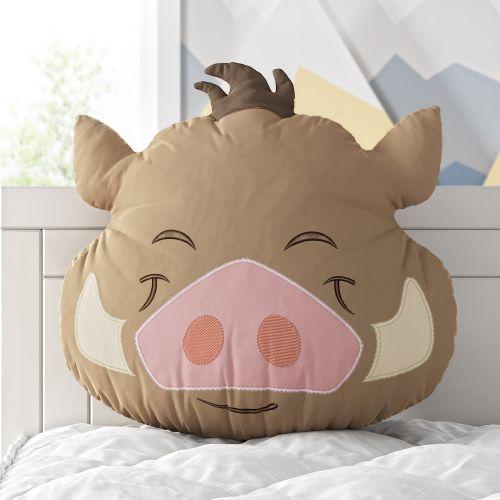 Almofada Amiguinho Pumba O Rei Leão 30cm