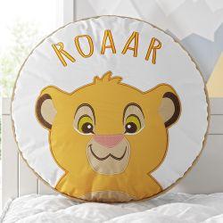 Almofada Redonda Amiguinho Simba O Rei Leão 38cm