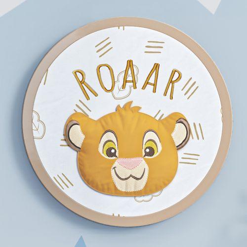 Quadro Bastidor Amiguinho Simba O Rei Leão