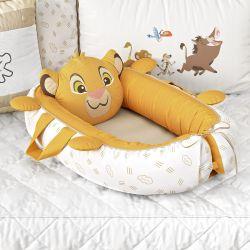 Ninho para Bebê Redutor de Berço Amiguinho Simba O Rei Leão 80cm