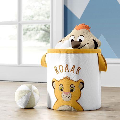 Cesto Organizador para Brinquedos Amiguinho Simba O Rei Leão