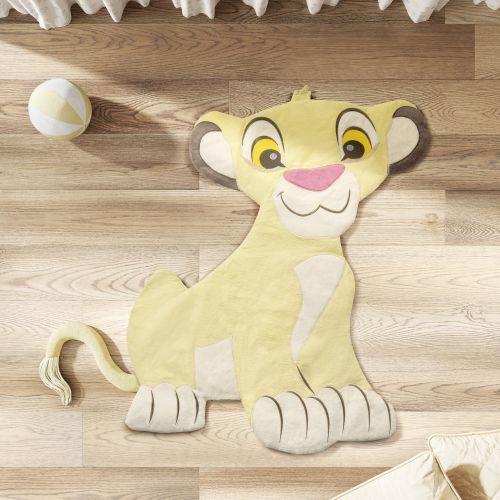 Tapete Amiguinho Simba O Rei Leão 90CM