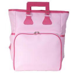 Mochila Maternidade Multifuncional Rosa/Pink 40cm