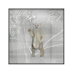 Quadro Canvas Urso
