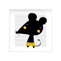 Quadro Canvas Ratinho