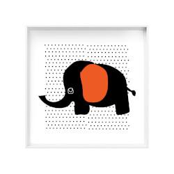 Quadro Canvas Elefante Poá