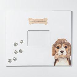 Quadro Porta-retrato Amigo Beagle