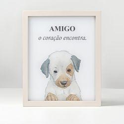 Luminária Led Cachorrinho Amigo Vira-lata