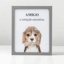 Luminária Led Cachorrinho Amigo Beagle