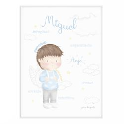 Quadro Significado do Nome Miguel Moreno