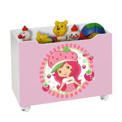 Caixa Organizadora para Brinquedos Moranguinho