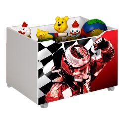 Caixa Organizadora para Brinquedos Fórmula 1